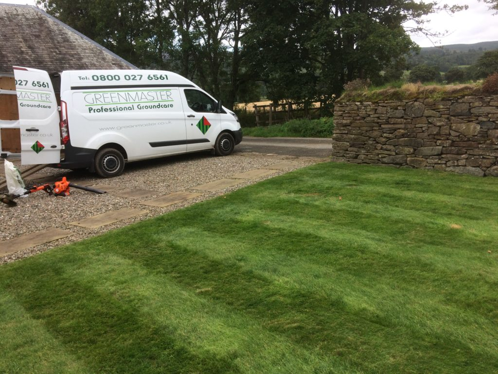greenmaster lawncare central scotland