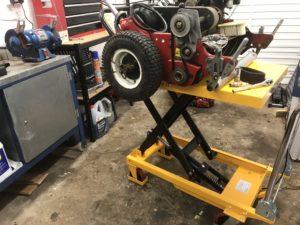 mower servicing